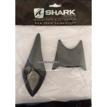 Entrada De Ar Capacete Shark S500air Superior Preto Par