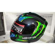 Capacete Monster Rider - Helmets Mrc