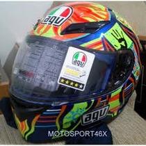 Capacete Agv Racing Pista Gp Valentino Rossi