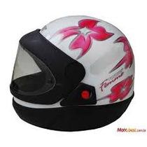 Capacete Moto Femme Tamanho 56 Branco - San Marino