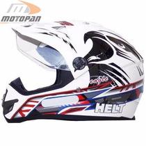 Capacete Motocross Helt Cross Vision Eagle Número 62