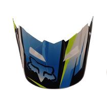Visor (pala) Capacete Fox V1 Costa Azul - Tamanho Gg/ggg