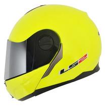 Capacete Ls2 Ff386 Articulado Amarelo Fluor 59/60 Rs1