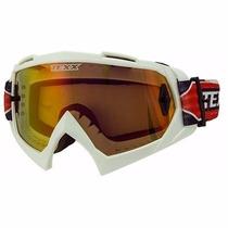 Oculos Motocross Trilha Enduro Off Texx Fx1pro Lente Iridium