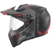 Capacete Motoqueiro Agv Ax-8 Dual Evo Gt Motocross Off Road