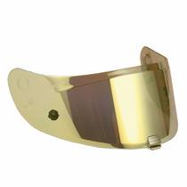 Viseira Hjc R-pha10 Plus Iridium Dourada