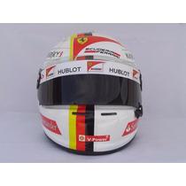 Capacete Arai Gp6 F1 Sebastian Vettel Ferrari