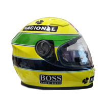 Capacete Personalizado Do Senna 1991