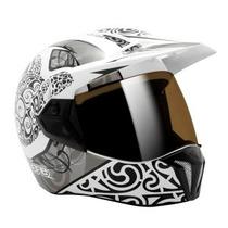 Capacete Moto Bieffe 3 Sport Maori Branco Lançamento 60 L