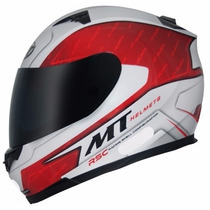 Capacete Mt Blade Boss Red Lançamento Na Dragon Racing Motos