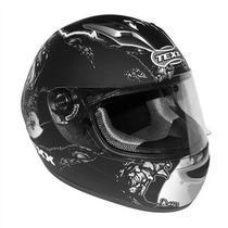 Capacete Motoqueiro Texx Flash Fibra De Vidro Honda Cg Cb300