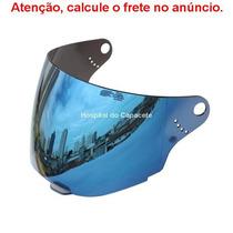 Viseira Espelhada Azul Iridium Bieffe 3 Sport V1 E V2