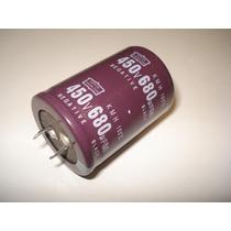 Capacitor Eletrolítico 680uf X 450v - 105° - Frete Grátis