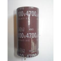 Capacitor Eletrolítico 4700uf X 100v - 105°c - Radial - Kmg