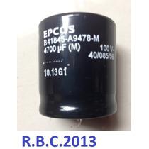 Capacitor Eletrolitico 4700uf/100v Epcos 35x40
