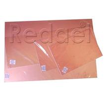Placa De Fenolite Cobreada 30x30 Pci Circuito Impresso Pcb