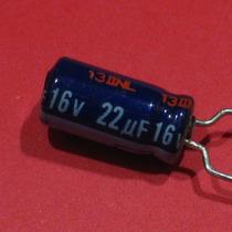 40 Peças * Capacitor Eletrolítico Radial 22uf 16v 85º