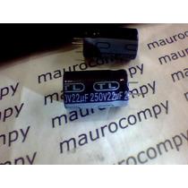 Elco 22uf X 250v 105° Taiwan Pct 25pç R$ 19,90 Cons. Frete