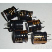 Capacitor Eletrolítico 680uf X 4v Kit 10 Peças
