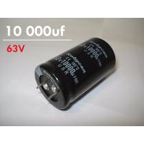 Capacitor Eletrolítico 10.000uf 63v 105°c Audio Fonte