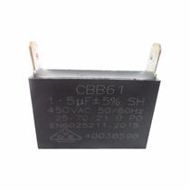 Capacitor 1.5uf Ventilador 450vac P/ Ar Condicionado Split