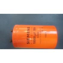 Capacitor Eletrolítico Siemens 10.000uf 70v Promoção