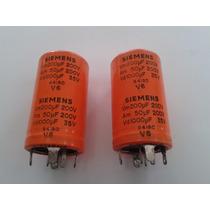 Capacitor Eletrol. 200uf X 200v / 50uf X 200v / 1000uf X 35v