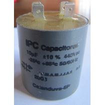 Capacitor Partida 10uf 440vac P/ Diversos Motores