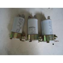 Capacitor Eletrônico Siemens 5uf 10% - 380vac 3unid