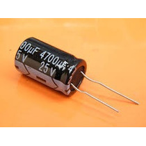 200 Capacitor Eletrolitico 4.700uf X 25v * 4700uf * 105ºc