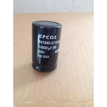 Capacitor 10.000uf X 63v Snap In Epcos