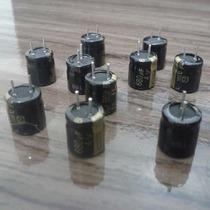 Capacitor Eletrolítico 680uf 4v 105º 10 Pçs Pronta Entrega