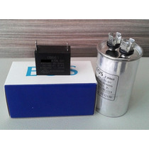 Capacitor 25uf + 1,5uf P/ Compressor E Ventilador Split 9000