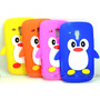 Capa Case Pinguim 3d Silicone Galaxy S Duos S7562