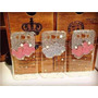 Capa Case Samsung Galaxy E7 Mickey Minnie Strass Top 3d