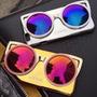 Capa Capinha Case Iphone 5 5s 6 6s 6 Plus Estilo Óculos Luxo