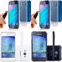 Capa + Pelicula De Vidro Celular Samsung Galaxy J1 Ace Duos