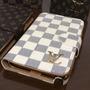 Capa Case Carteira Samsung Note 4 Luxo Couro Louis Vuitton
