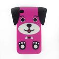 Capa Case Silicone Iphone 4g 4s - 3d Cachorro Cachorrinho