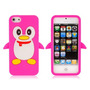 Case Capa De Silicone Pinguim Em 3d Para Novo Iphone 5 Apple