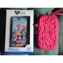 Iphone 5 5s Capa Case Minnie, Donald, E Castelo Disney Park