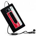 Capa Case Galaxy S2 I9100 S3 I9300 Fita Cassete K7 Silicone