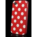 Frete Grátis!! Capa Silicone Vermelho Luxo Iphone 4g 4s