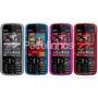 Capa Silicone Nokia 5730 + Película Protetora De Tela