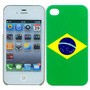 Case Iphone 4 Bandeira Brasil