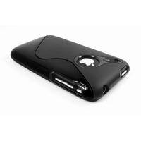 Capa De Luxo Em Tpu P/ Iphone 3g 3gs + Película S-type Case