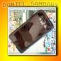 Capa Tpu Cor Fume Samsung Galaxy A3 A300 + Pelicula De Vidro