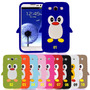 Capa Capinha Case Silicone 3d Pinguim Galaxy S3 9300