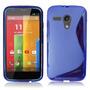 Capa Silicone Tpu S-type Para Motorola Moto G Xt1032 Xt1033