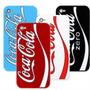 Capa Case Iskin Coca Cola Iphone 4 / 4s + Pelicula